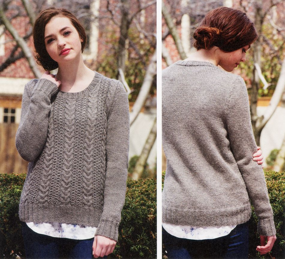 Knitting Patterns Gillam Pullover
