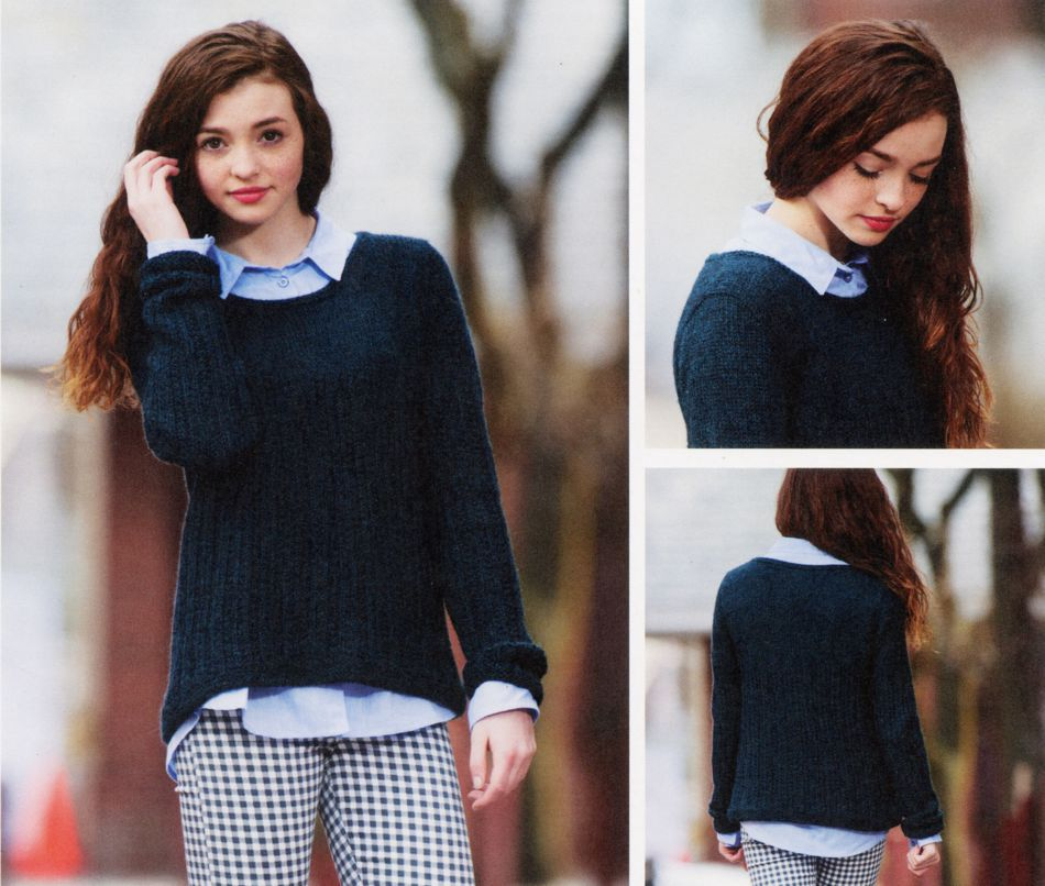 Knitting Patterns Hawkes Pullover