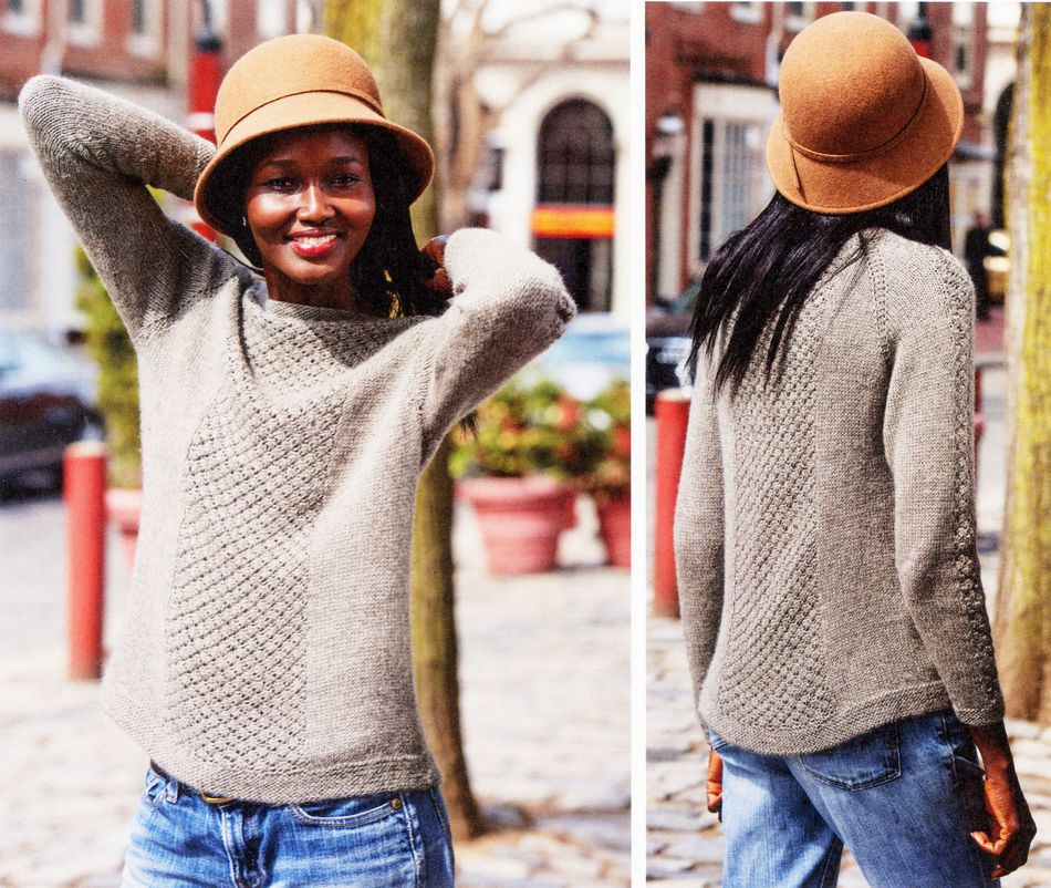 Knitting Patterns Teegan Pullover