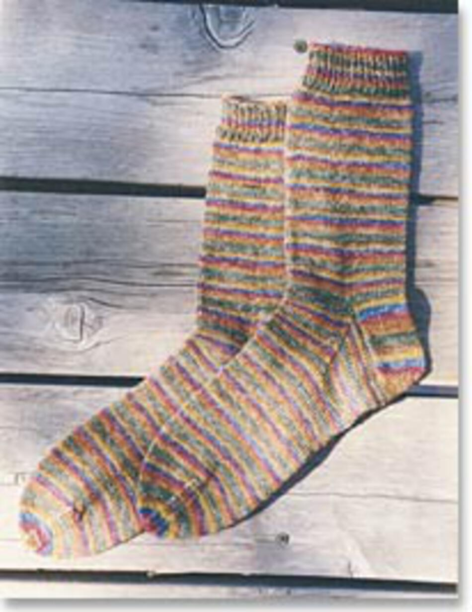 Knitting Patterns Beginneraposs Lightweight Socks by Knitting Pure and Simple