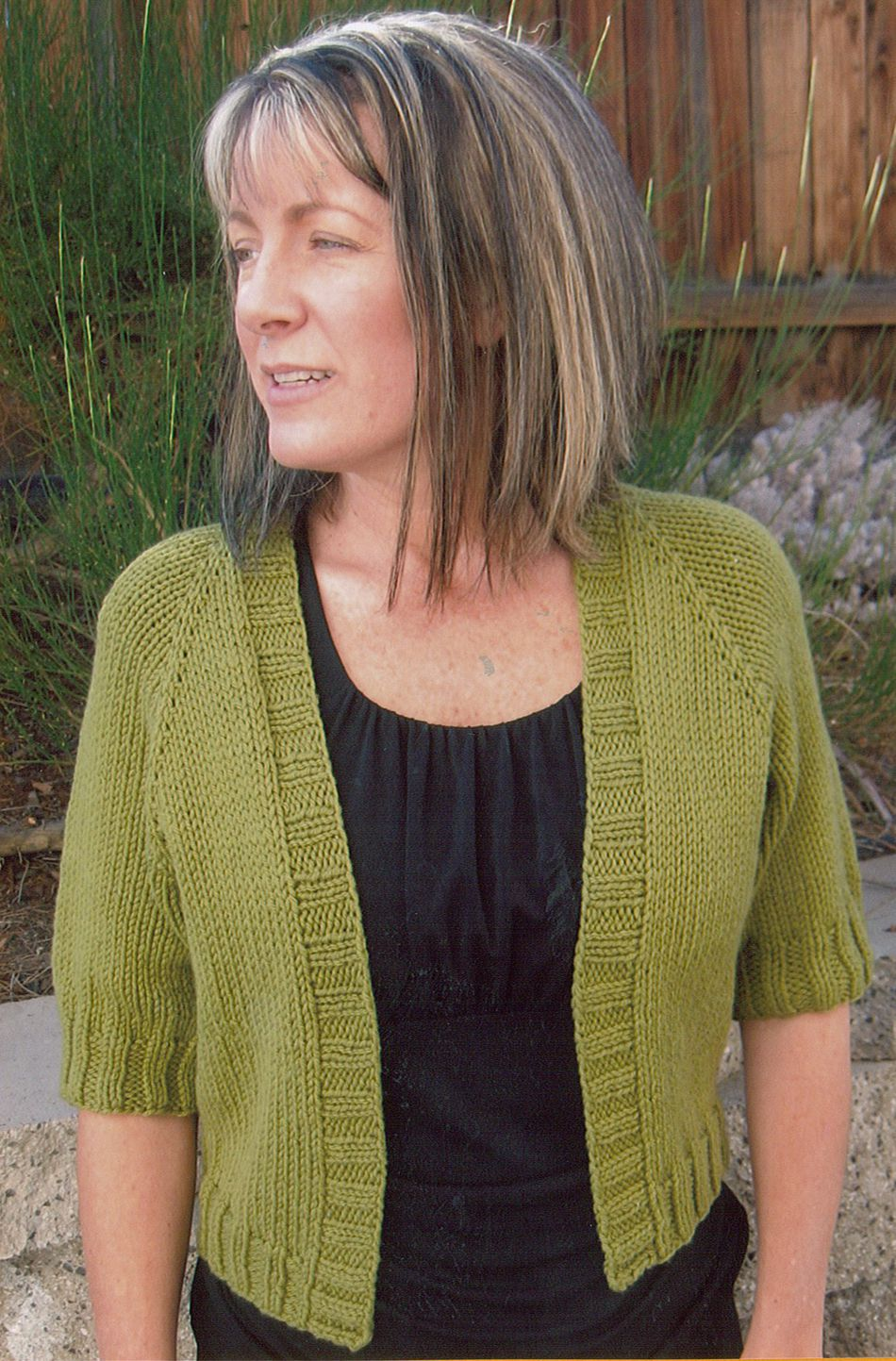 Summer Open Cardigan by Knitting Pure and Simple, Knitting Pattern ...