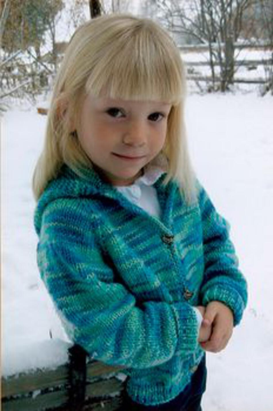 Knitting Patterns Childrenaposs Neck Down Cardigan by Knitting Pure and Simple