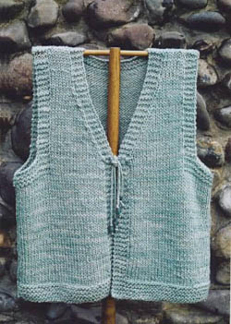 Knitting Pattern Vest Bulky Yarn : Albion Vest, Knitting Pattern - Halcyon Yarn