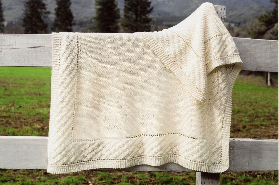 Prairie Blanket, Knitting Pattern - Halcyon Yarn