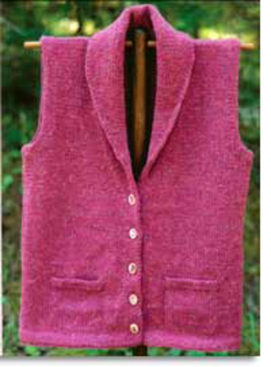 Knitting Patterns Village Vest