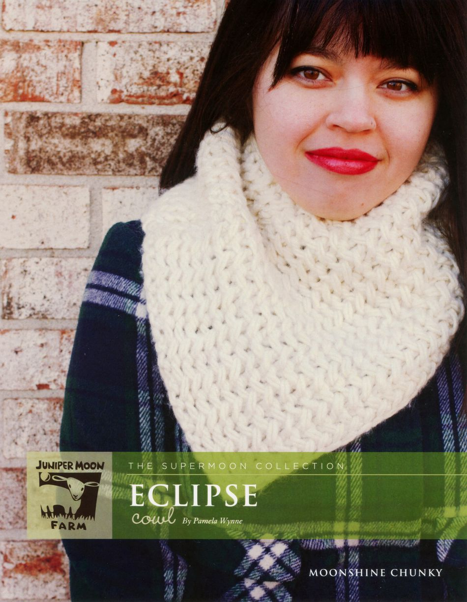 Knitting Patterns Eclipse Cowl