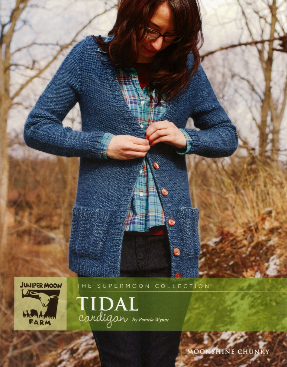 Knitting Patterns Tidal Cardigan