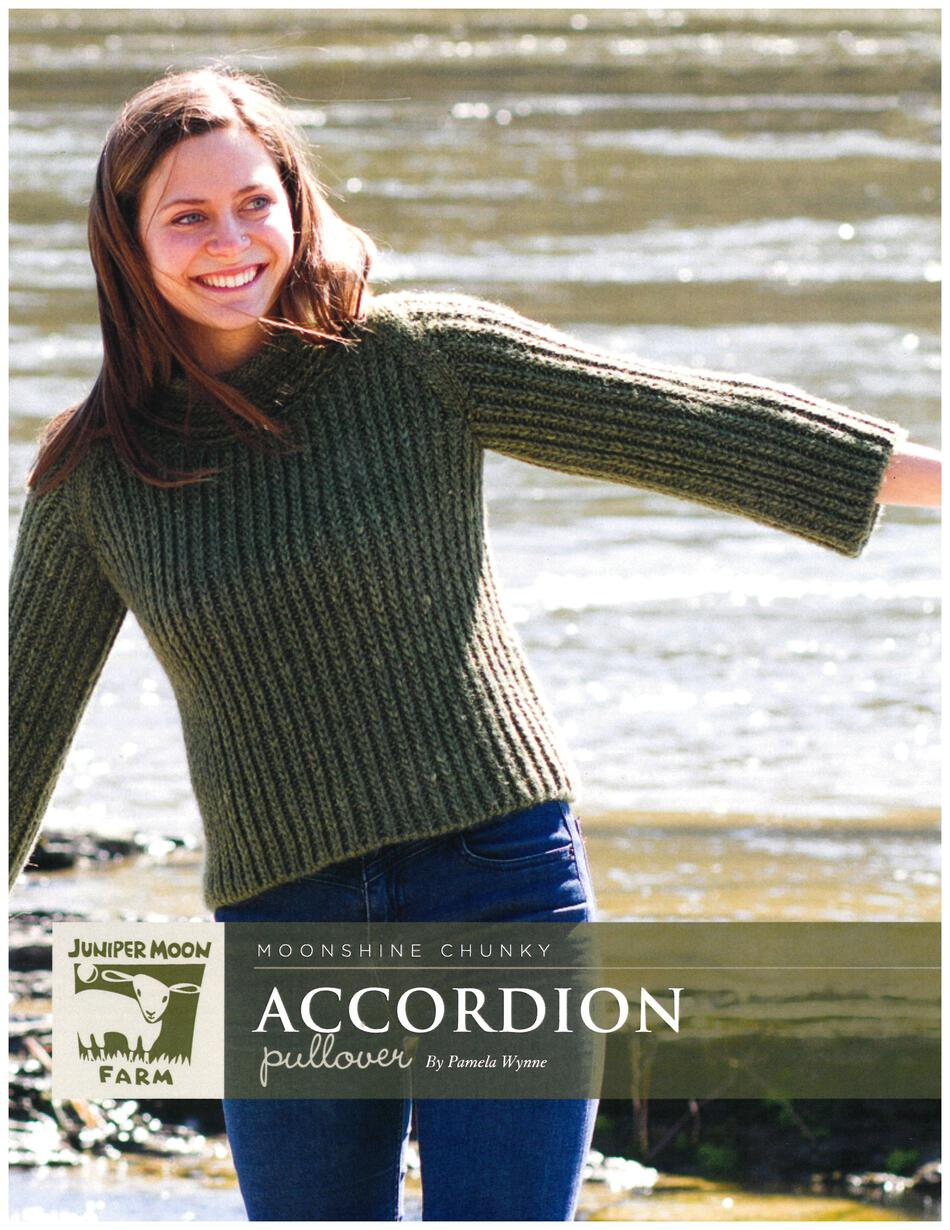 Knitting Patterns Accordion Pullover