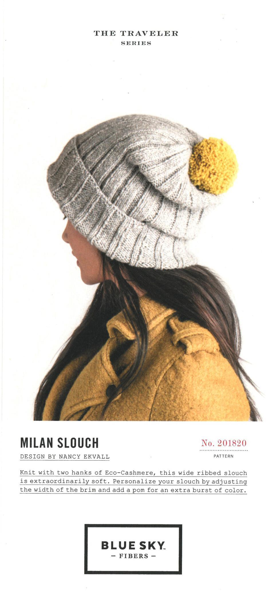 362ffb2dee5 Milan Slouch Knitting Pattern