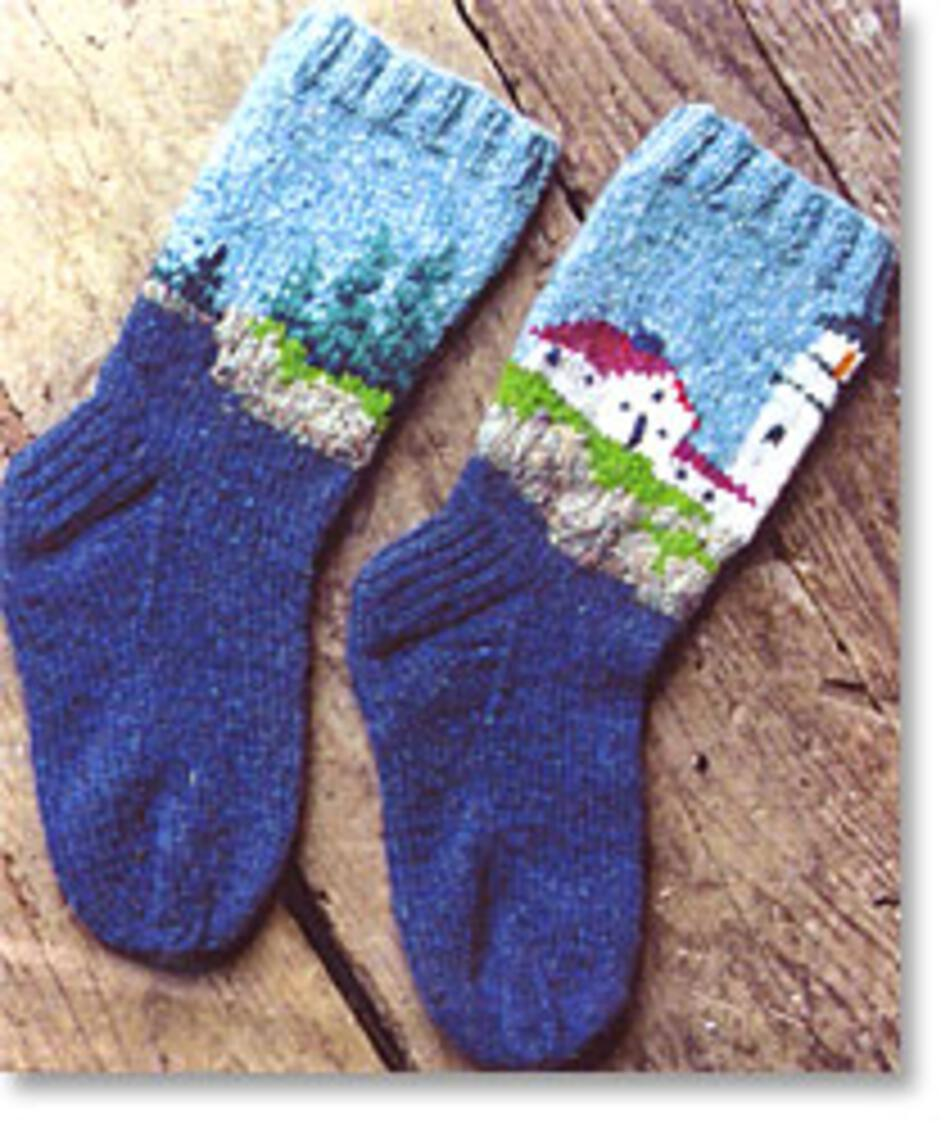 Lighthouse Socks Knitting Pattern Halcyon Yarn
