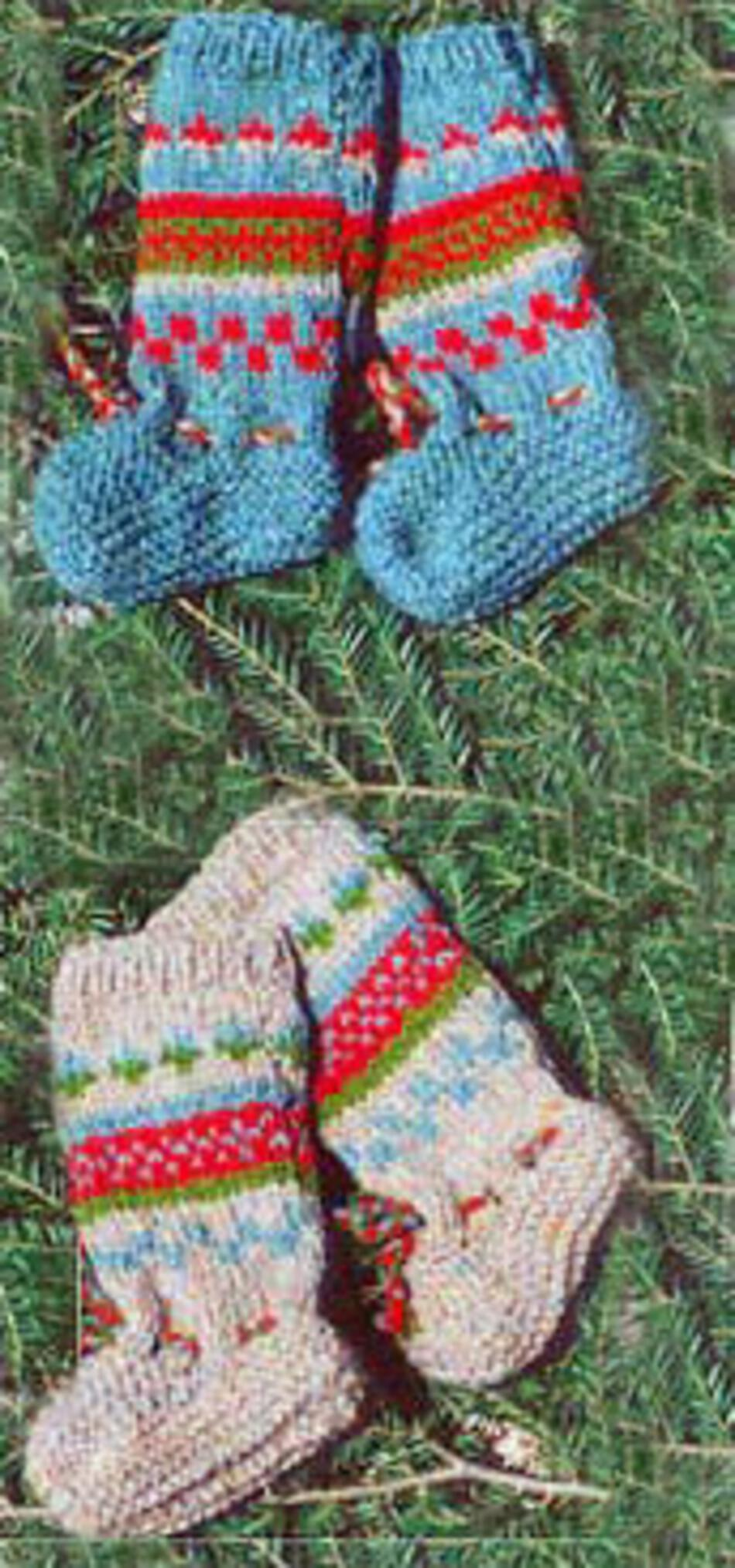 Knitting Pattern Felted Baby Booties : Infant Baltic Booties, Knitting Pattern - Halcyon Yarn