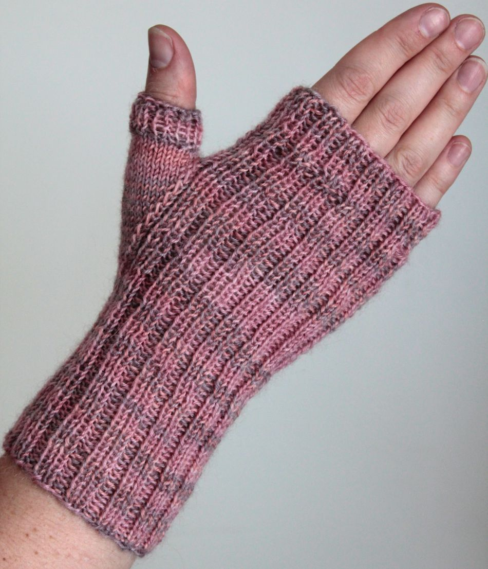Fingerless Gloves Knitting Pattern Circular Needles Interesting Design Ideas