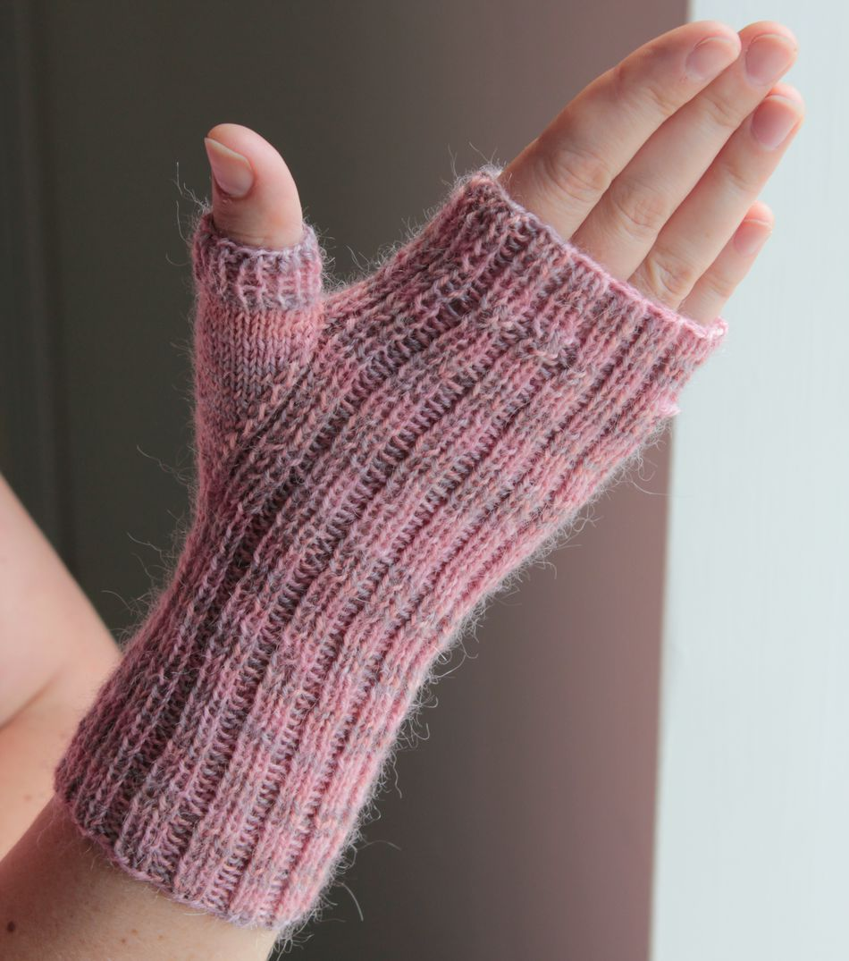Fingerless Gloves and Mitts, Fingering Weight, Knitting Pattern ...