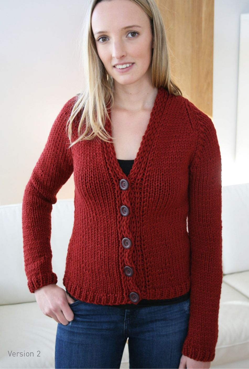 Quick Cardigan Knitting Pattern : Jo Sharp Quick Ultra Cardigan Pattern, Knitting Pattern - Halcyon Yarn