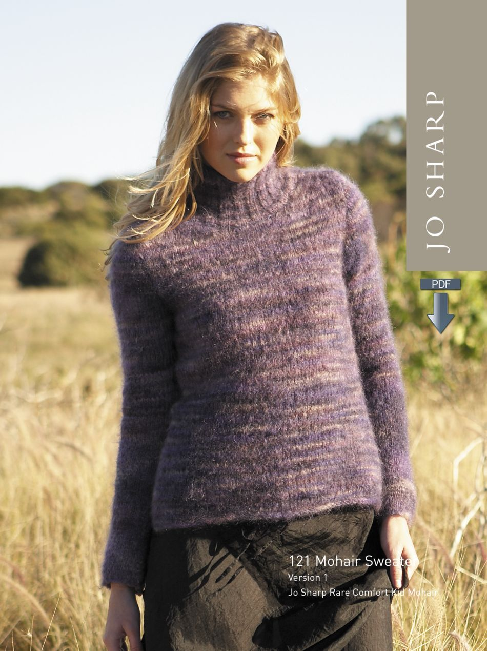 9cfbcd071 Jo Sharp Mohair Sweater - Pattern Download (image A) ...
