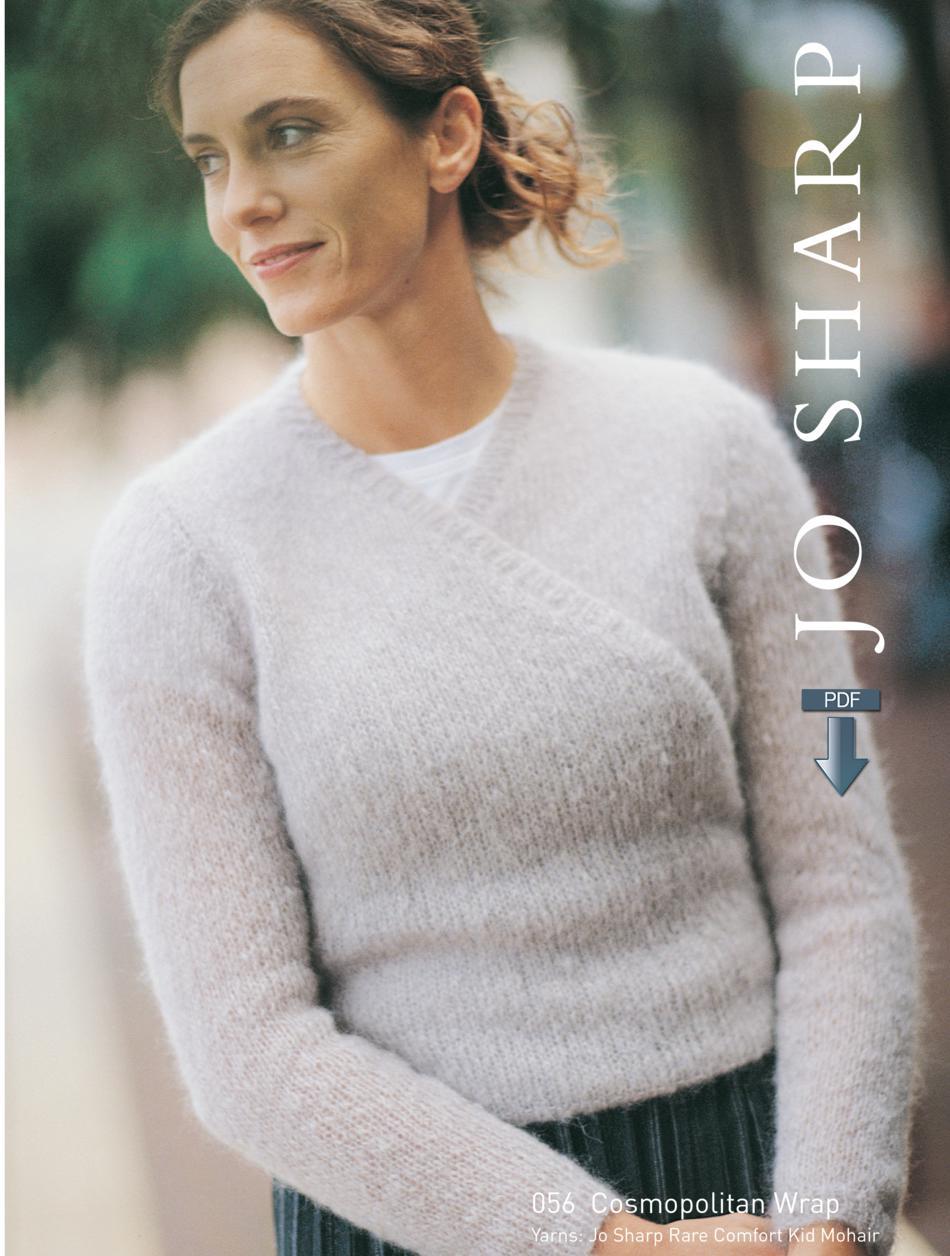 0f95823ce Jo Sharp Cosmo Wrap - Pattern Download Knitting Pattern