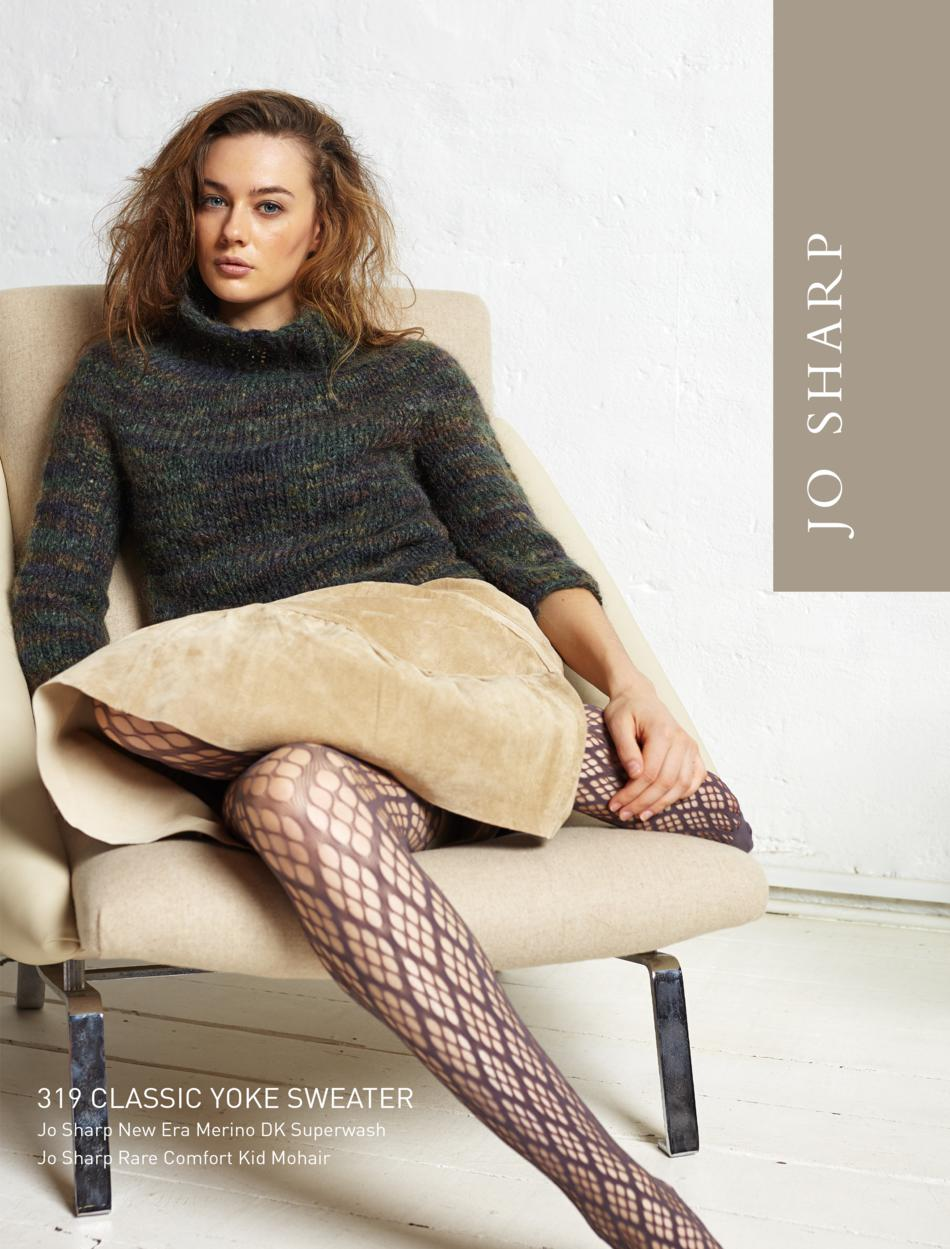 Knitting Patterns Jo Sharp Classic Yoke Sweater Pattern