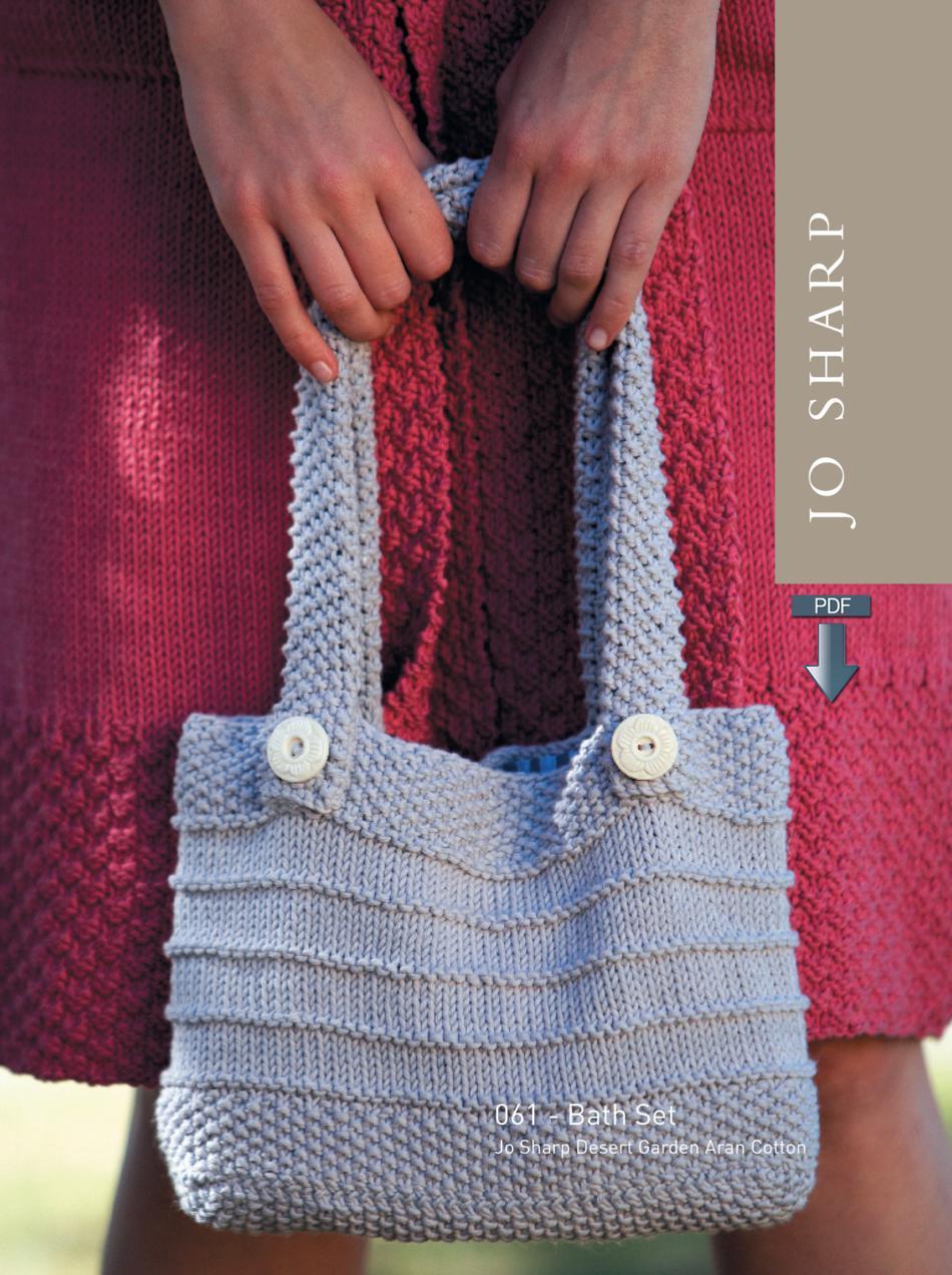 Knitting Set : Jo sharp bath set pattern download knitting
