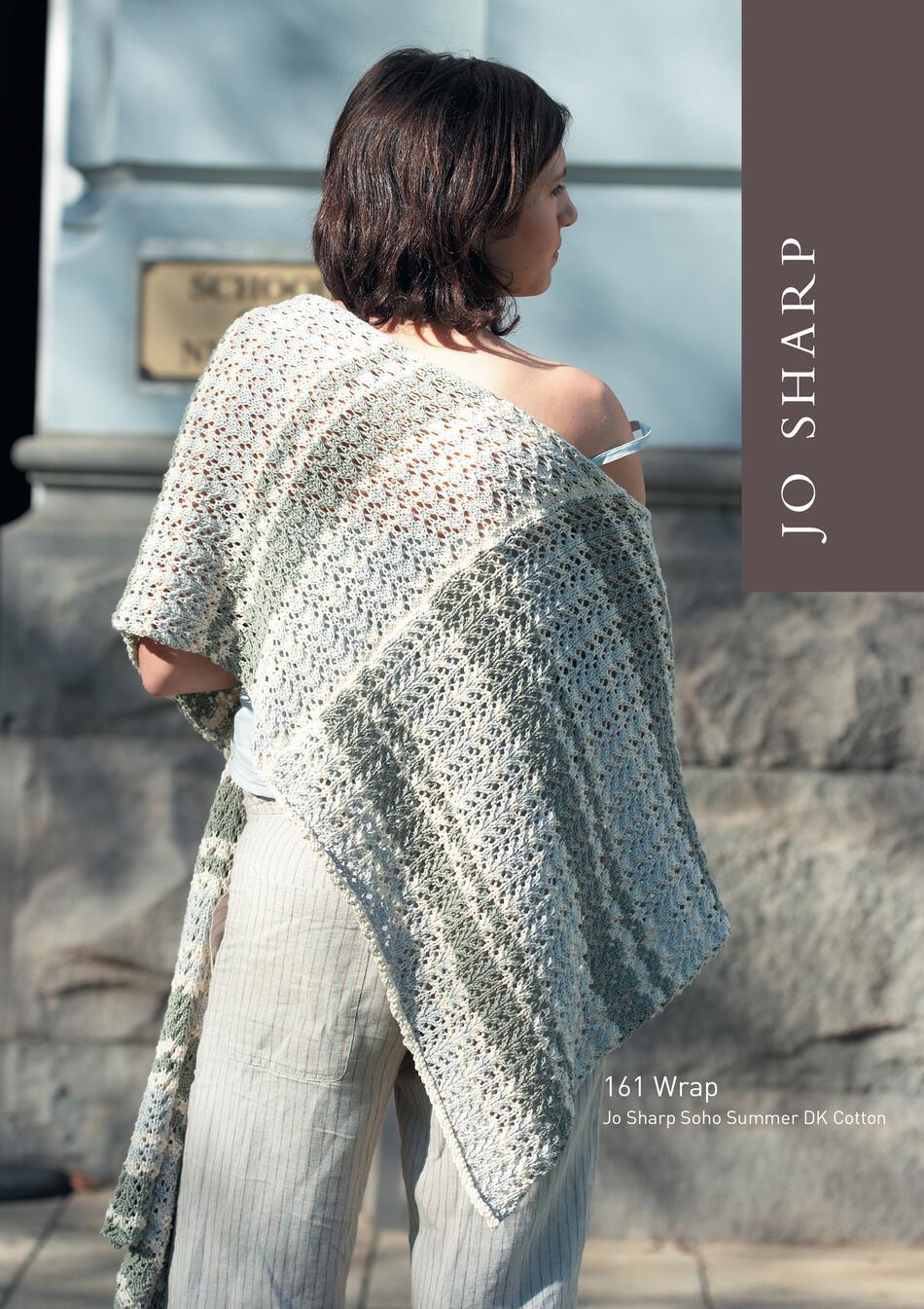 Jo Sharp Poncho and Wrap - Pattern Knitting Pattern