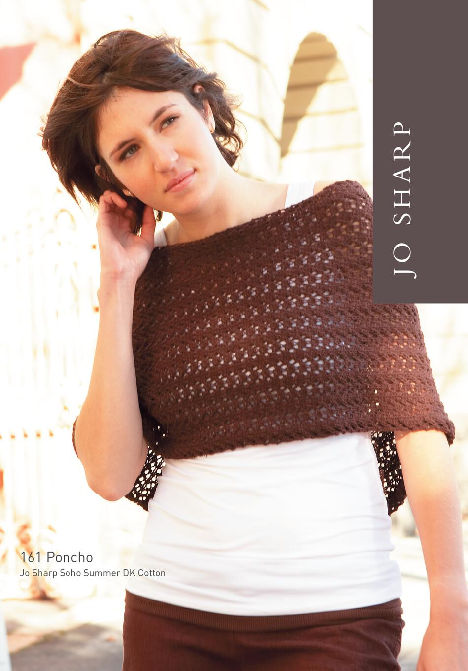Knitting Patterns Jo Sharp Poncho and Wrap  Pattern Download