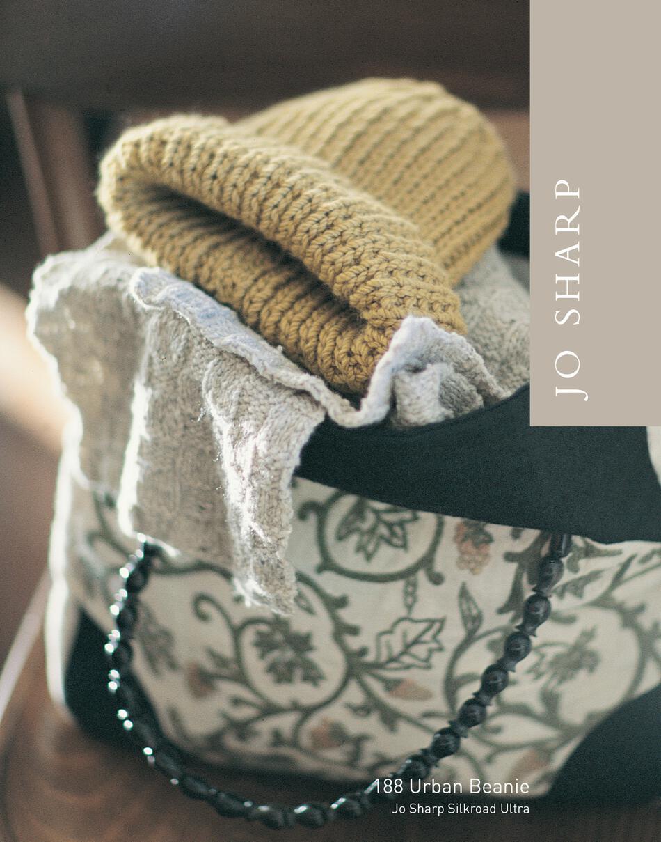 Jo Sharp Urban Beanie - Pattern Download, Knitting Pattern - Halcyon Yarn