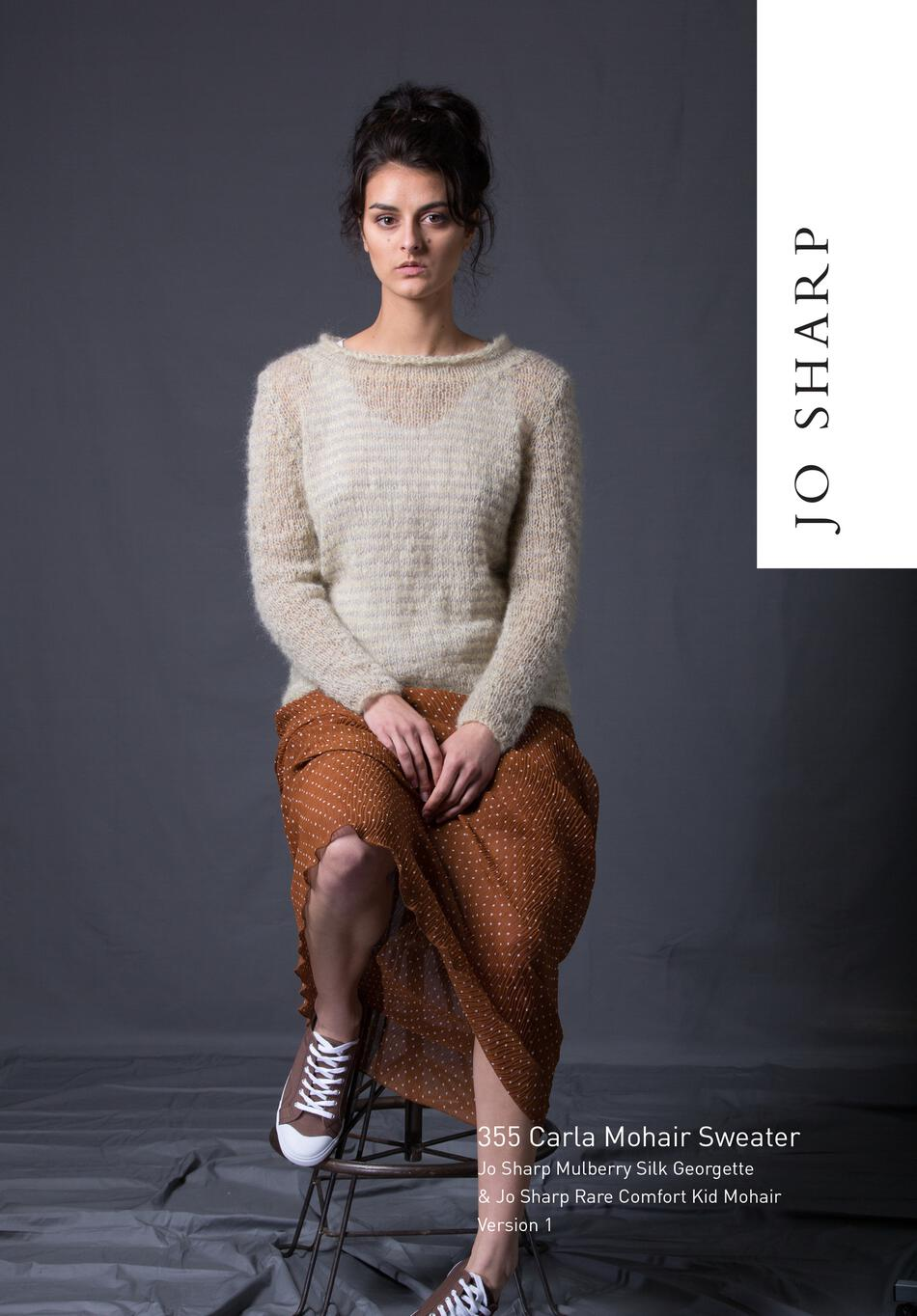 2a7b44b53 Jo Sharp Carla Mohair Sweater - Pattern Knitting Pattern