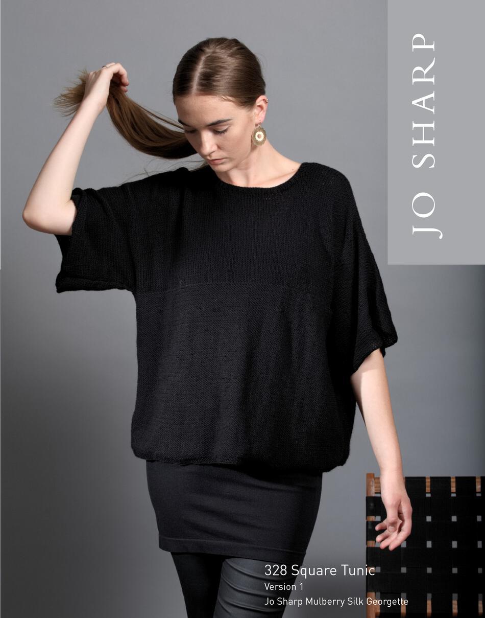 Jo Sharp Square Tunic - Pattern, Knitting Pattern - Halcyon Yarn