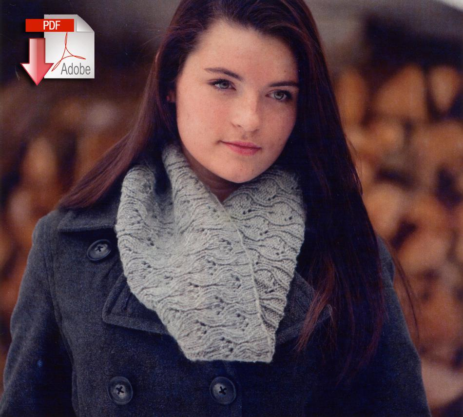 Knitting Patterns Swans Island Ava Cowl  pattern download