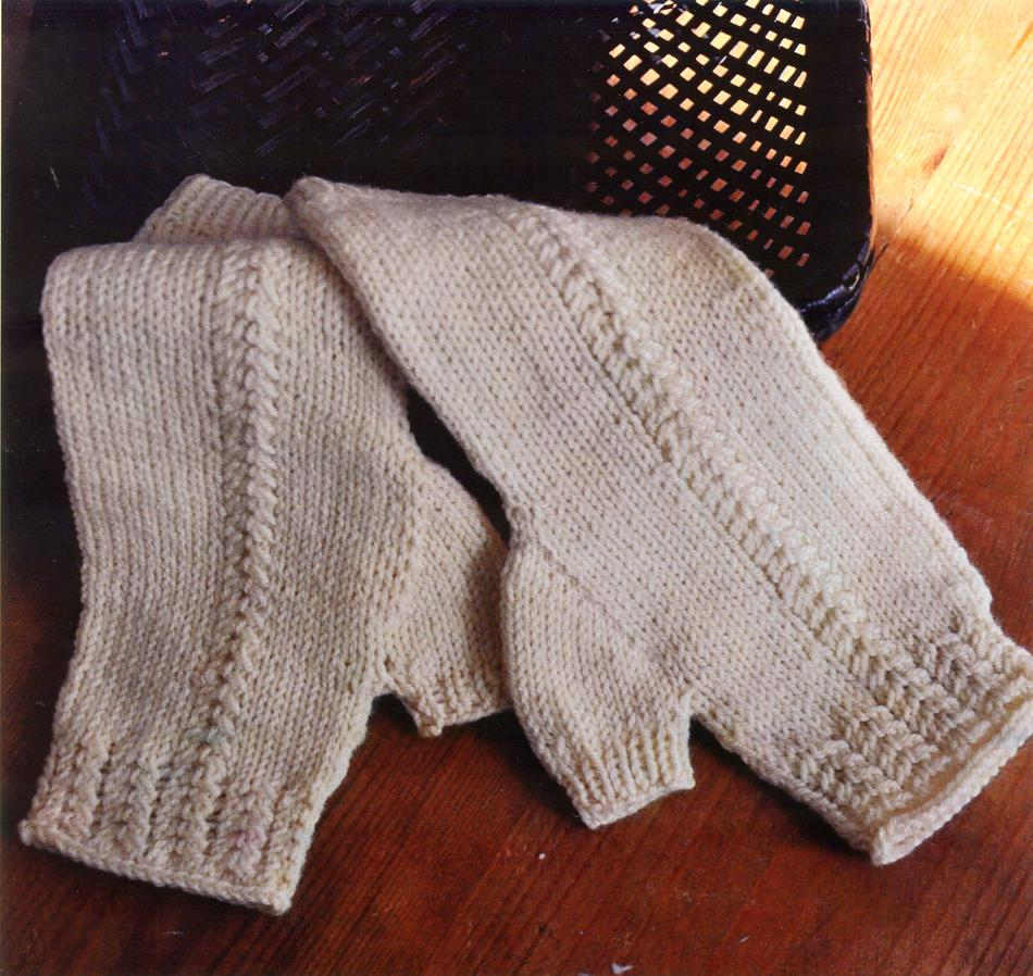 Knitting Patterns Swans Island Aspen Mitts  Pattern Download