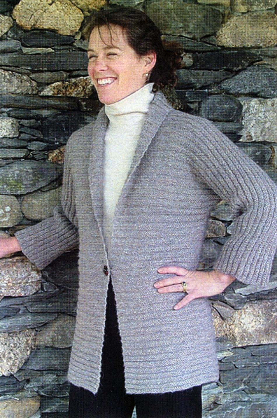 Knitting Patterns Kimono Cardigan
