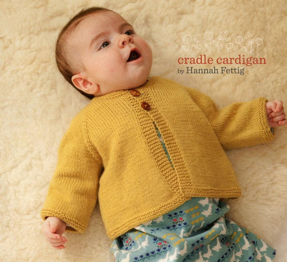 Knitting Patterns Mabelaposs Closet Cradle Cardigan