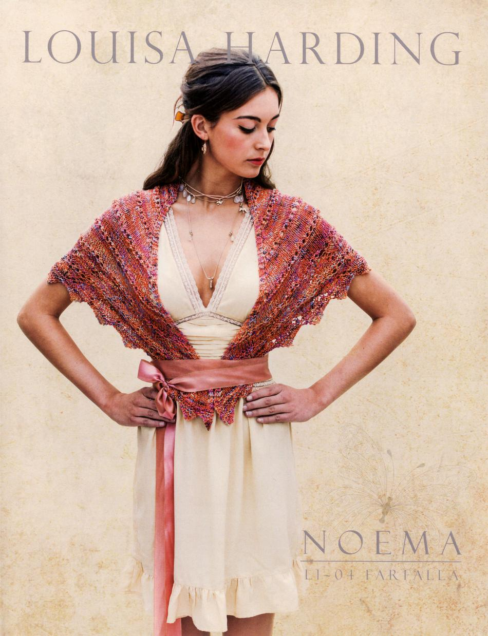 Knitting Patterns Noema Farfalla Shawl