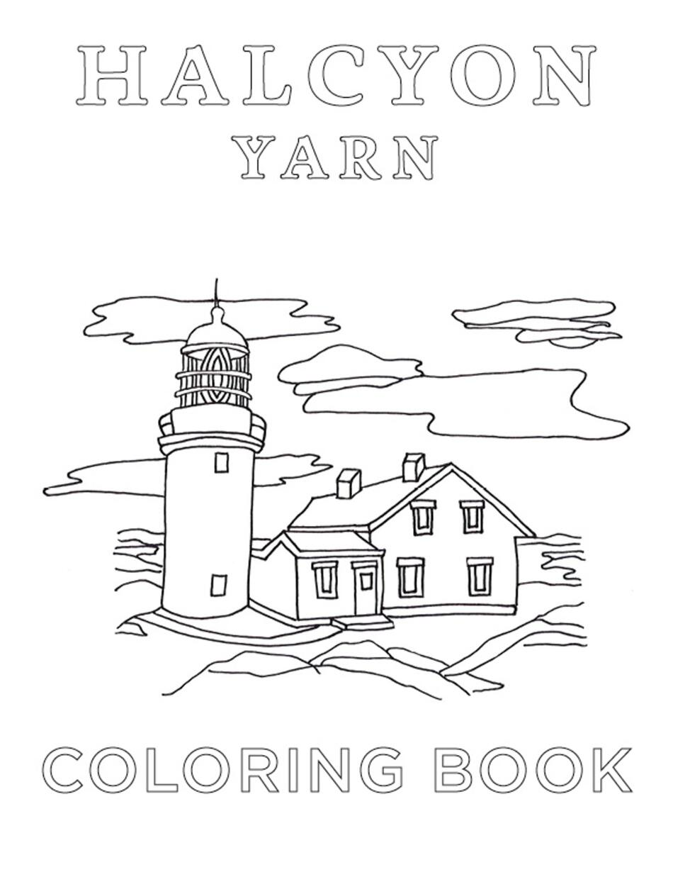MultiCraft Books Halcyon Yarn Coloring Book