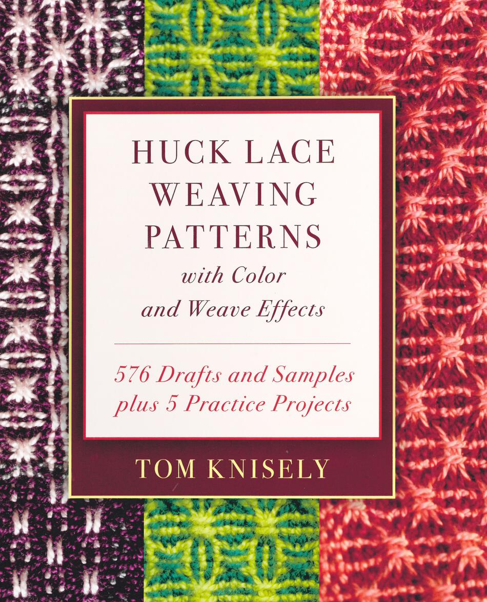Weaving Books Huck Lace Weaving Patterns with Color and Weave Effects