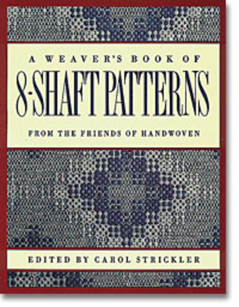 Weaving Books A Weaveraposs Book of 8Shaft Patterns