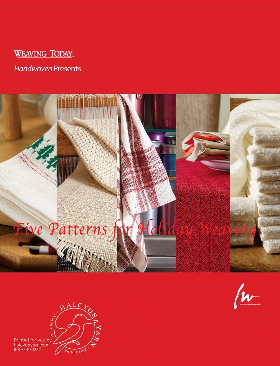 Handwoven S Design Collection  Ebook