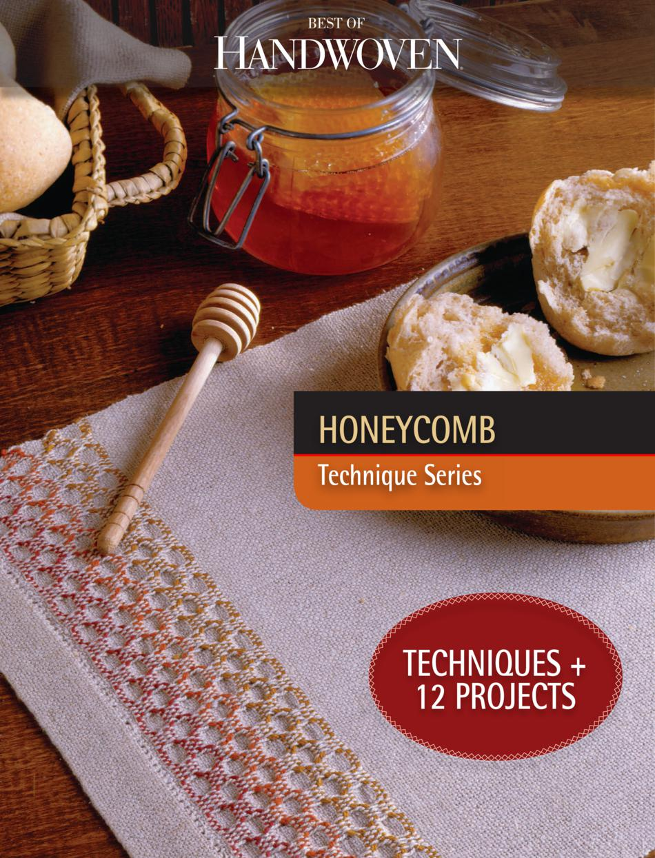 Weaving Books Best of Handwoven Honeycomb  Technique Series  eBook Printed Copy