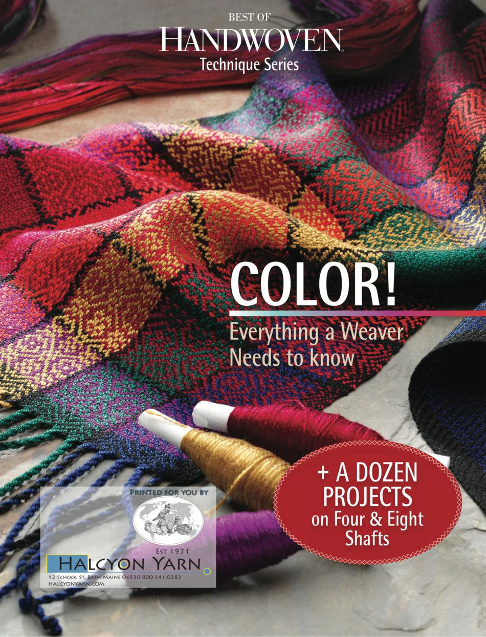 Weaving Books Best of Handwoven Color  Technique Series  eBook Printed Copy