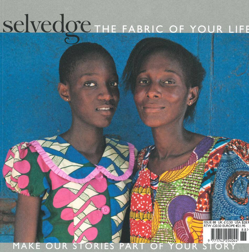 MultiCraft Magazines Selvedge  Issue 88  The Geometric Issue