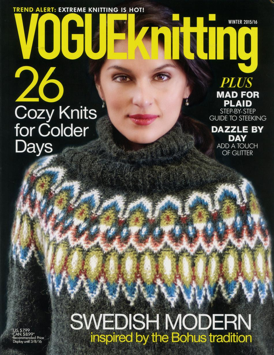 Vogue Knitting Patterns 2016 : Vogue knitting winter magazine