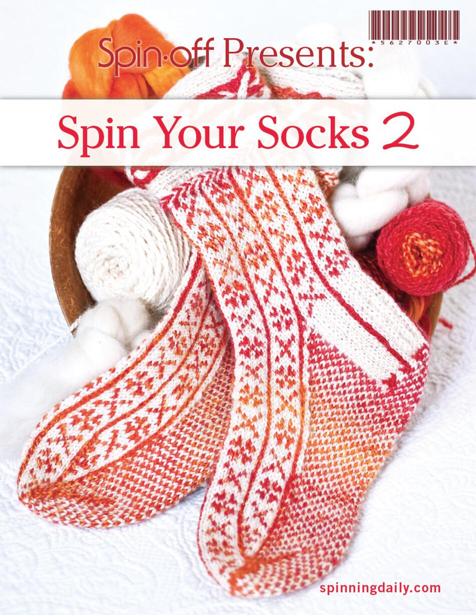 Spinning Books SpinOff Presents Spin Your Socks 2  eBook Printed Copy