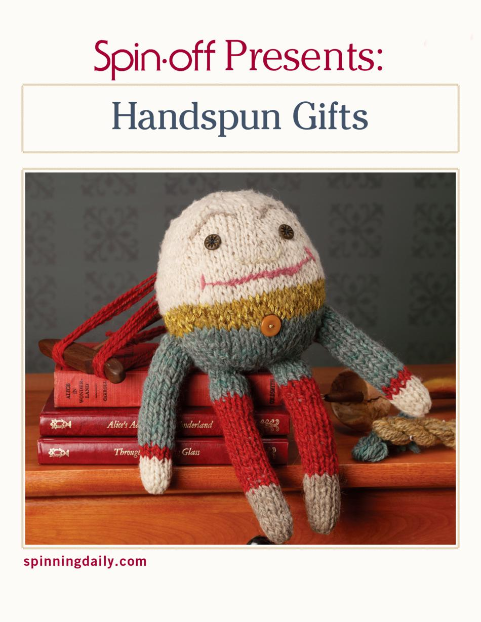 Spinning Books SpinOff Presents Handspun Gifts  eBook Printed Copy