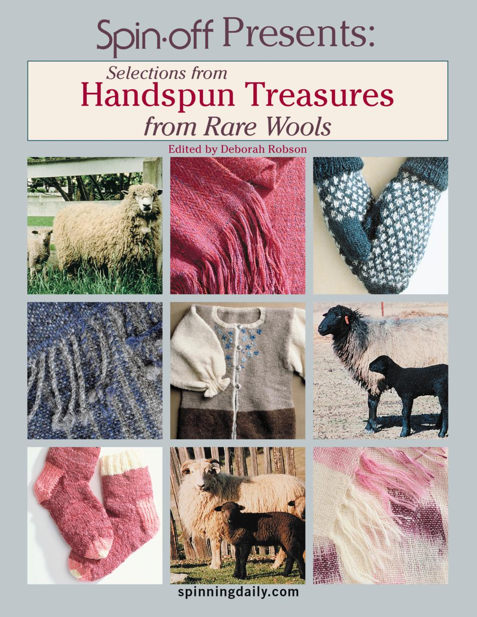 Spinning Books Selections from Handspun Treasures from Rare Wools eBook Reprint