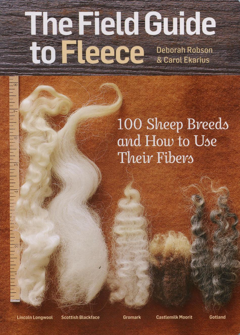 Spinning Books The Field Guide to Fleece