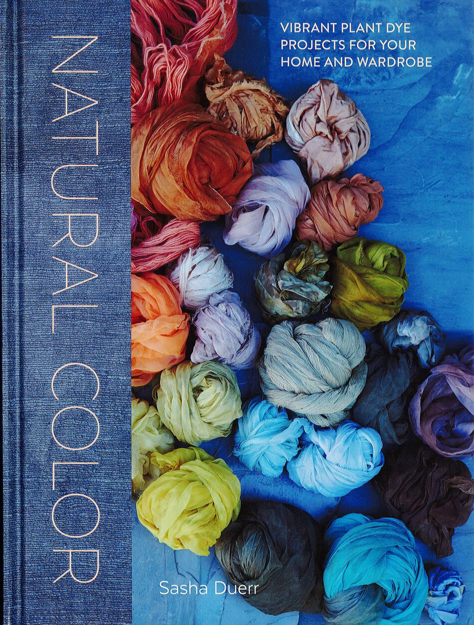 Dyeing Books Natural Color