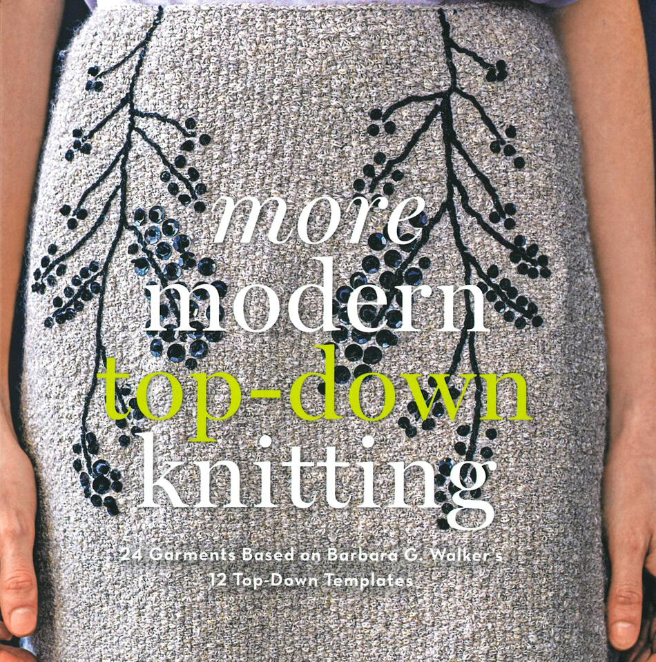 Knitting Books More Modern TopDown Knitting