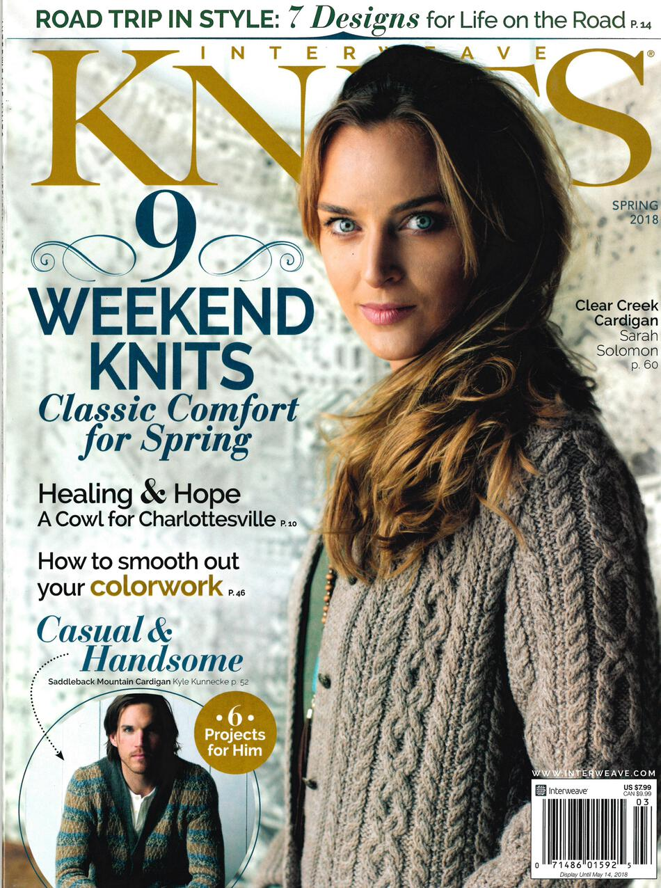 Knitting Events 2018 : Interweave knits spring knitting magazine halcyon yarn