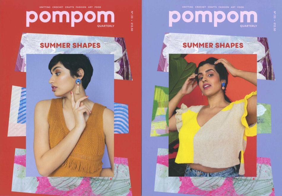 Knitting Magazines pompom Quarterly Summer 2020