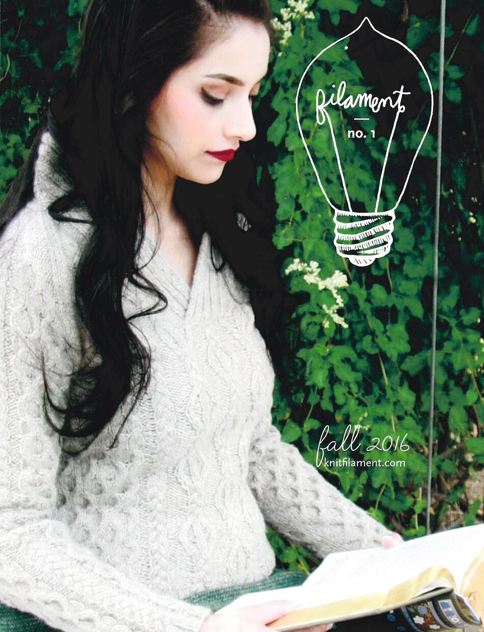 Knitting Magazines Clearance  Filament No 1 Fall 2016