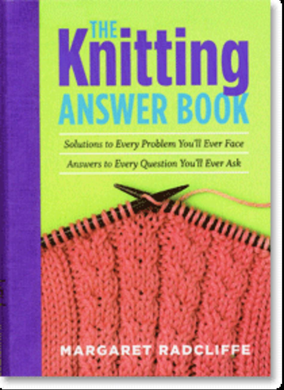 Knitting Books : The knitting answer book nd edition